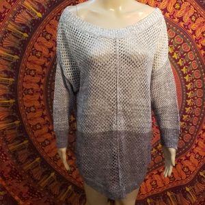 Large knit/net tunic size XL